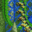 Inverted Vertical Shuttle RCT2 Icon