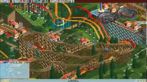 Roller Coaster Tycoon Three Monkeys Park Timelapse