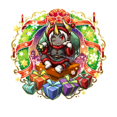 Aporou (Demon Gift of the Holy Night) in the mobile game