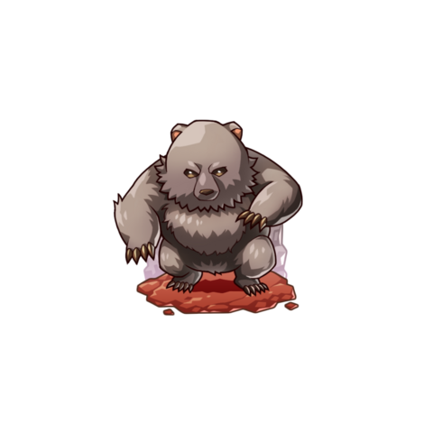 A Hind Bear in the mobile game