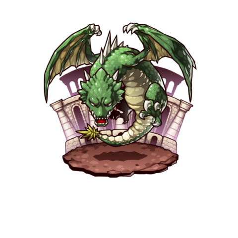 The Jadar Wyvern Leader in the mobile game