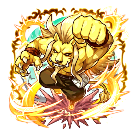 Lionel (Beast King) in the mobile game
