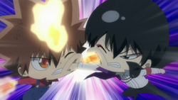 Hibarin vs MT Tsuna