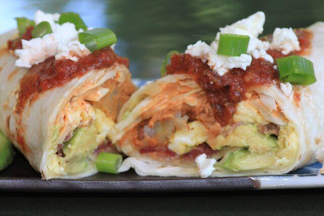 File:Breakfast burrito.JPG
