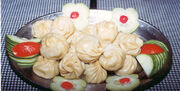 Momos (tibetan steamed dumplings)