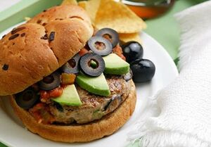 Mexican-Turkey-Burgers