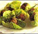Moroccan Lettuce-wrapped Meatballs