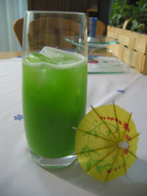 Cocktail gruene witwe