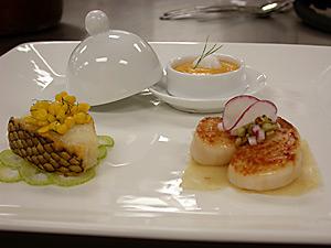 File:Sea Bass with Corn Ragout.jpg