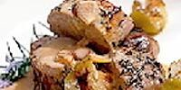 Irish Roast Pork with Potato Stuffing