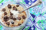 Coconut Cookie Dough Oatmeal