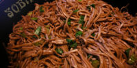 Soba Noodles with Mushrooms