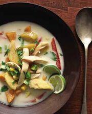 Coconut Vegetable Soup