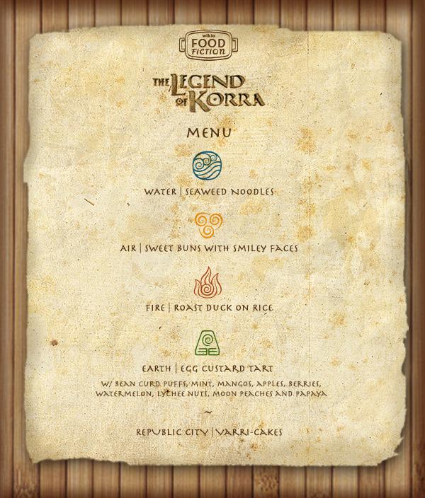 Ff legendofkorrafinale menu