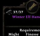 Winter Elf Handwraps