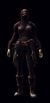 Privateers armor set female