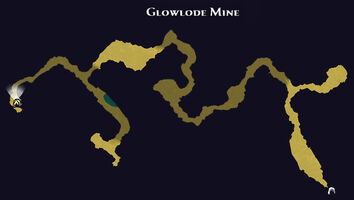 Glowlode mine map