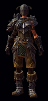Unique Might Armor Fem LoDK