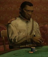 Wilfredo playing poker