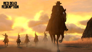 Red dead redemption posse chase