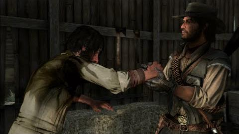 "Red Dead Redemption - mission ""A Frenchman, a Welshman and an Irishman"""