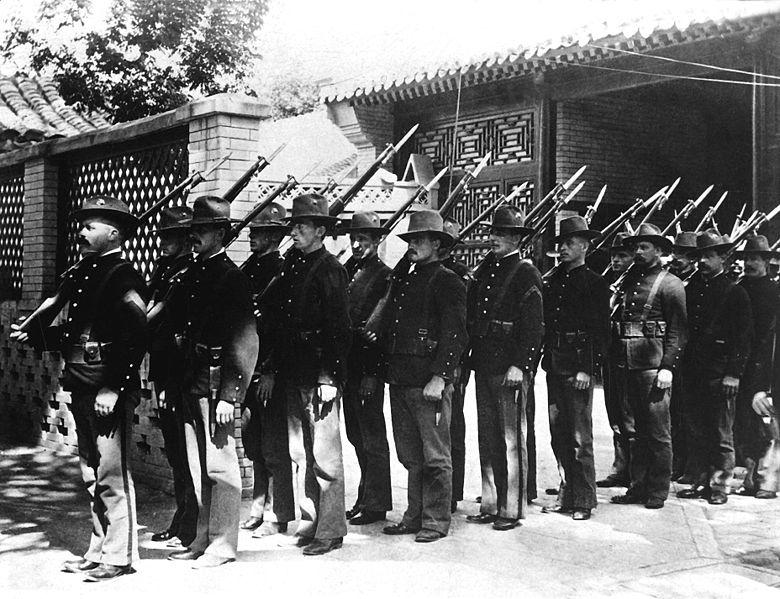780px-US Marines in China 1900 HD-SN-99-01986