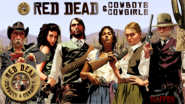 RED DEAD Cowboys group image