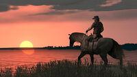 John marston sunset