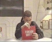Tension sheet