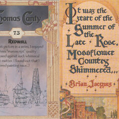 Thomas Canty Trading Cards #73 - Redwall