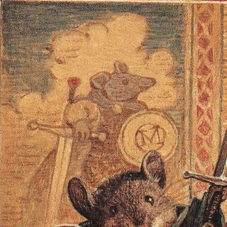 The Tapestry, <i>Redwall</i> cover, by <a href=