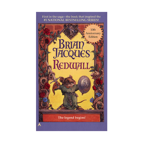<i>Redwall</i> 10th Anniversary paperback