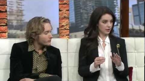 Toby Regbo and Adelaide Kane on cp24