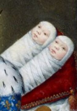 Princesses Joan and Victoria of Valois