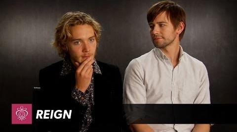 Reign - Toby Regbo Torrance Coombs Interview