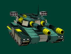 New Andes Templar Tank