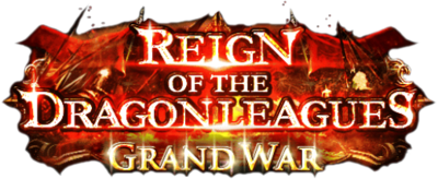 Reign of the Dragon Leagues Grand War banner