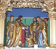 File:Mochenwangen Pfarrkirche Hochaltar Brotwunder.jpg