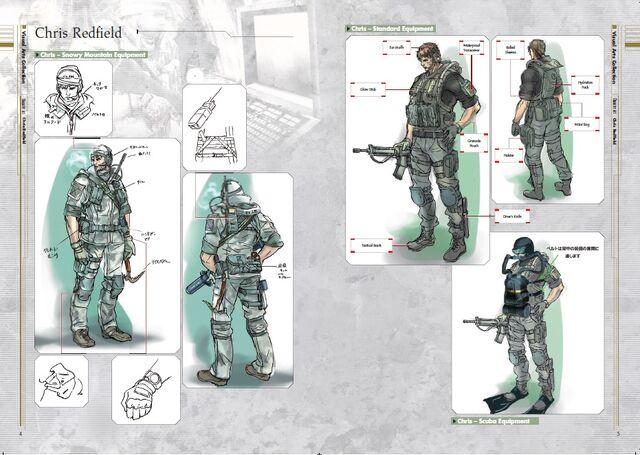 File:Resident Evil Revelations Artbook - page 4.jpg