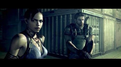 "Resident Evil 5 - Cutscenes 46 ""A New Nightmare Begins"""