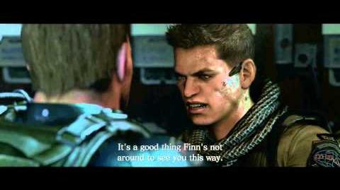Resident Evil 6 all cutscenes - Conflict