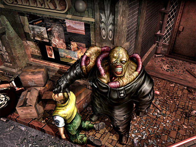 File:RE3Nemesis&Brad.png