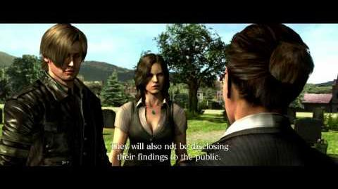 Resident Evil 6 all cutscenes - Trouble with Women