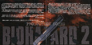 Biohazard 2OST booklet page 3 & 4