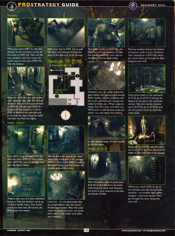 File:Resident Evil remake - GamePro - Issue 167 August 2002 - Jill guide Part 2 Page 105.jpg
