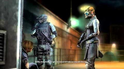 Resident Evil Operation Raccoon City all cutscenes - Capture (Bertha and Spectre)