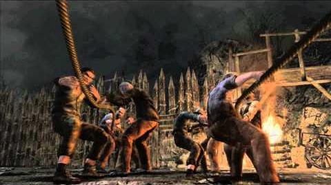 Resident Evil 4 all cutscenes - Chapter 2-1 scene 1