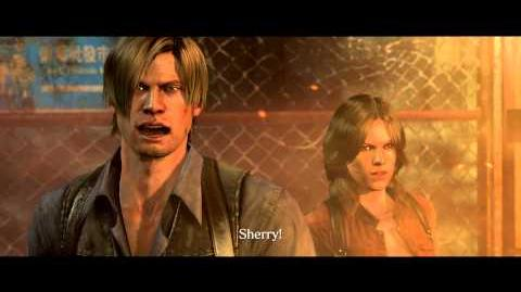 Resident Evil 6 all cutscenes - Separated