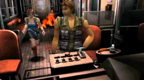 Resident Evil 3 Nemesis cutscenes - Impending Danger (Use the emergency brake)