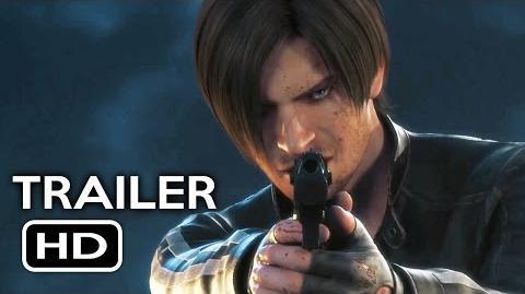 Resident Evil Vendetta Official Trailer 1 (2017) Animated Movie HD-0